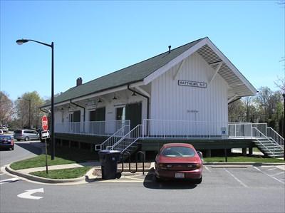 Matthews station - depot